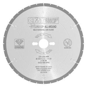 Pjovimo diskas medienai CMT 250x2,5x30; Z36; 10°