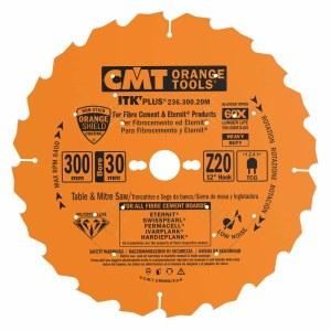 Pjovimo diskas medienai CMT 300x2.4x30; Z20; 12°