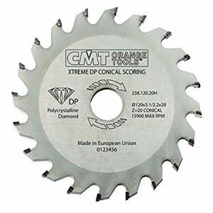 Pjovimo diskas medienai CMT 120x3.7x20; Z20; 5°