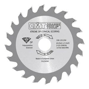 Pjovimo diskas medienai CMT 125x3.7x20; Z20; 5°
