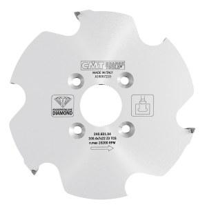 Pjovimo diskas medienai CMT 100.4x7x30; Z6; 20°