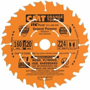 Pjovimo diskas medienai CMT 160x1.7x20; Z24; 18°