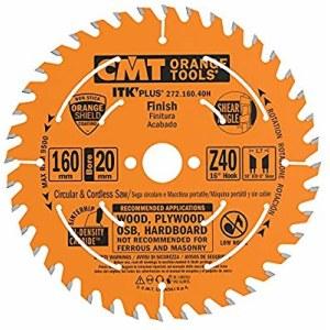Pjovimo diskas medienai CMT 160x1,7x20; Z40; 16°