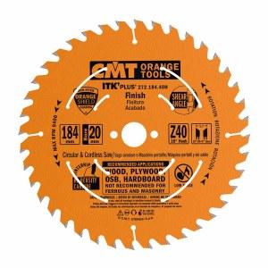 Pjovimo diskas medienai CMT 184x1,7x20; Z40; 18°
