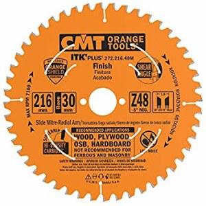 Pjovimo diskas medienai CMT 210x1,8x30; Z48; 15°