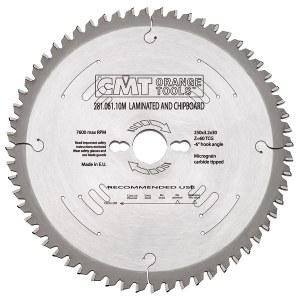 Pjovimo diskas medienai CMT 250x3.2x30; Z60; -3°