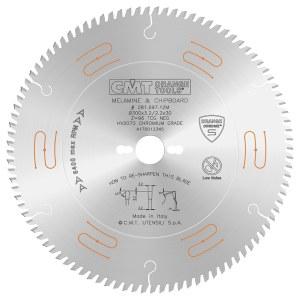 Pjovimo diskas medienai CMT 250x3,2x30; Z80; -3°