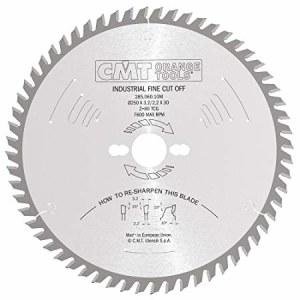 Pjovimo diskas medienai CMT 250x3,2x30; Z60; 10°