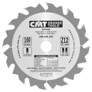 Pjovimo diskas medienai CMT 160x2.2x20; Z12; 20°