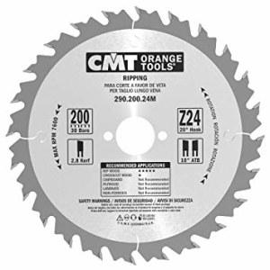 Pjovimo diskas medienai CMT 200x2.8x30; Z24; 20°