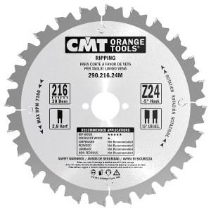 Pjovimo diskas medienai CMT 210x2.8x30; Z24; 20°