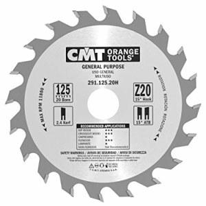 Pjovimo diskas medienai CMT 125x2,4x20; Z20; 15°