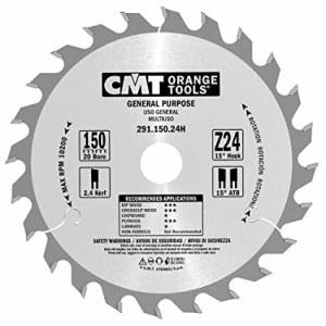 Pjovimo diskas medienai CMT 150x2,4x20; Z24; 15°