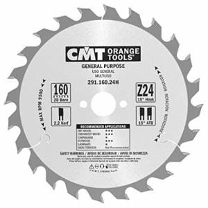 Pjovimo diskas medienai CMT; 160x2,2x20 mm; Z24