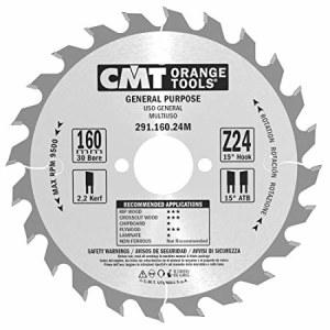 Pjovimo diskas medienai CMT 160x2,2x30; Z24; 15°