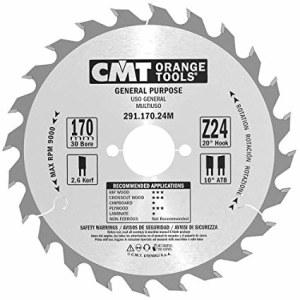 Pjovimo diskas medienai CMT 291.170.24M; d=170 mm