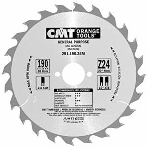 Pjovimo diskas medienai CMT 190x2,6x30; Z24; 20°