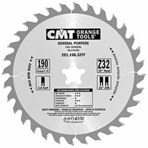 Pjovimo diskas medienai CMT 291.190.32FF; d=190 mm