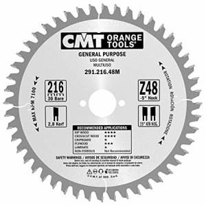 Pjovimo diskas medienai CMT; 216x2,8x30 mm; Z48