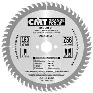 Pjovimo diskas medienai CMT 160x2,2x20; Z56; 15°