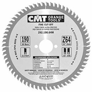 Pjovimo diskas medienai CMT 190x2,6x30; Z64; 15°