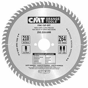 Pjovimo diskas medienai CMT; 210x2,8x30,0 mm; Z64; 15°