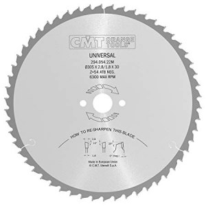 Pjovimo diskas medienai CMT 294.054.22M; d=305 mm