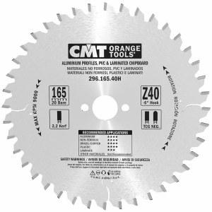 Pjovimo diskas laminatui CMT; 165x2,2x20 mm; Z40