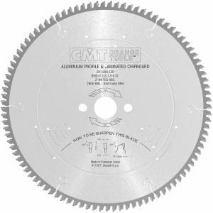 Pjovimo diskas aliuminiui CMT 297.096.12P; d=300 mm