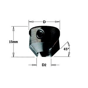Kūginis gilintuvas CMT 316.120.12; 20 mm; D2=12 mm