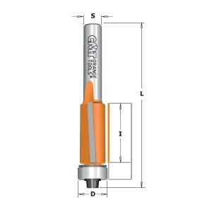 Kopijuojanti freza CMT; S=6 mm; D=9,5 mm