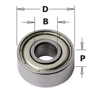 Atraminis guolis CMT 791.054.00; 80x40x18 mm