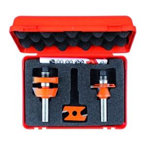 Frezų rinkinys CMT adjustable shaker; 1/2'' (12,7 mm); 3 dalys