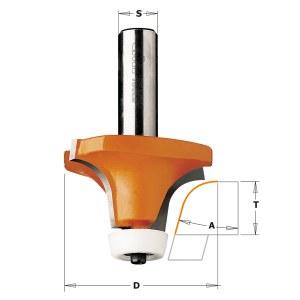 Apvalinimo freza CMT; S=12 mm; D=50,8 mm; su guoliu