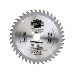 Pjovimo diskas medienai CMT 160x2.2x20; Z40; 10°