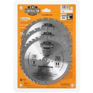 Pjovimo diskas medienai CMT; 190x2,2/1,4x30 mm; Z24/24/40; 3 vnt.