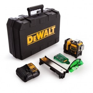 Lazerinis nivelyras DeWalt DCE089D1G; žalias