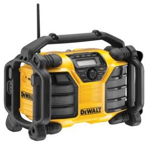 Radijo imtuvas DeWalt DCR016-QW; 10,8/14,4/18 V (be akumuliatoriaus ir pakrovėjo)