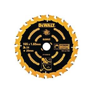 Pjovimo diskas medienai DeWalt DT10300-QZ; 165 mm