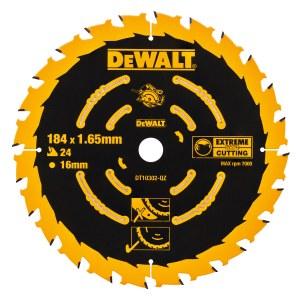 Pjovimo diskas medienai DeWalt Extreme; Ø184 mm