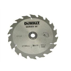 Pjovimo diskas medienai DeWalt DT1938; 184x16 mm; 18T