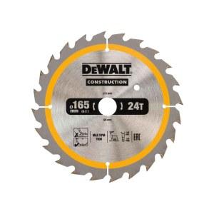 Pjovimo diskas medienai DeWalt DT1949-QZ; 165 mm