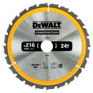 Pjovimo diskas medienai DeWalt DT1952; 216x30 mm; 24T