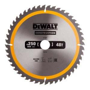 Pjovimo diskas DeWalt DT1957-QZ; 250 mm