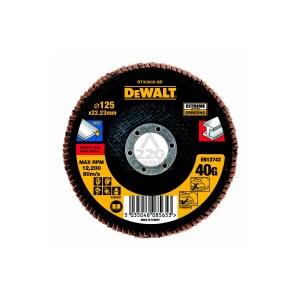 Vėduoklinis šlifavimo diskas DeWalt DT30602-QZ; 125 mm; 1 vnt.