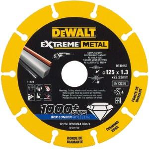 Deimantinis diskas DeWalt DT40252-QZ; 125x22,23x1,3 mm