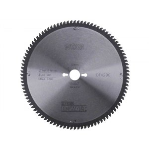 Pjovimo diskas medienai DeWalt; 305x3x30,0 mm; Z96; -5°