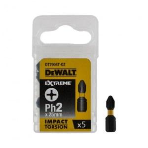 Sukimo antgalis DeWalt DT7994T-QZ; PH2; 5 vnt.