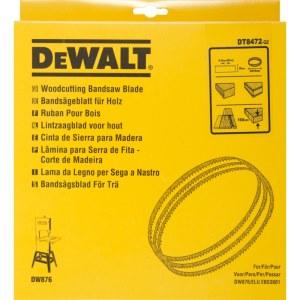 Juostinių staklių pjovimo juosta DeWalt; 2215x10x0,4 mm; 6 TPI; 1 vnt.