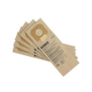 Popieriniai maišeliai dulkių siurbliui DeWalt DWV9401-XJ; 5 vnt.